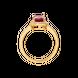 Nhẫn Vàng 18K đính đá Ruby PNJ RBXMY000559