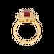Nhẫn Vàng 18k đính đá Ruby PNJ RBXMY000994