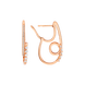Bông tai bạc đính đá STYLE By PNJ XMXMX000014
