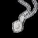 Mặt dây chuyền Kim cương Vàng trắng 14K PNJ DDDDW000254