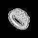 Nhẫn Vàng trắng 10K đính đá ECZ XMXMW060770