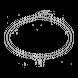 Dây cổ Bạc PNJSilver hình gói quà đính đá XMXMW060016