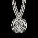 Mặt dây chuyền bạc đính đá Disney PNJ Mickey XM00W000019