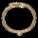 Dây cổ PNJ vàng 10K đính đá Swarovski 97433.100