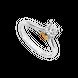 Nhẫn Kim cương Vàng 14K PNJ True Love 19 DD00C000551