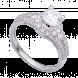 Nhẫn Vàng trắng 10K đính đá ECZ Swarovski PNJ XMXMW000131