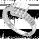 Nhẫn Vàng trắng Ý 18K đính đá CZ PNJ XMXMW000670