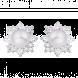Bông tai bạc PNJSilver đính ngọc trai 11126.200