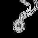 Mặt dây chuyền PNJ vàng trắng Ý 18K