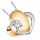 Mặt dây chuyền Kim cương Vàng 14K PNJ First Diamond