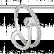 Nhẫn PNJ Vàng trắng 10K đính đá ECZ 91165.100