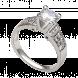Nhẫn bạc PNJSilver đính đá