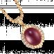 Mặt dây chuyền PNJ Vàng 18K đính đá Ruby 82193.600
