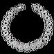 Lắc tay Vàng trắng Ý 18K đính đá CZ PNJ XMXMW000064