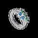 Nhẫn bạc mix đá màu PNJSilver Fantasia