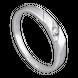 Nhẫn cưới Vàng trắng 10K đính đá ECZ Swarovski PNJ Chung Đôi XM00W000070