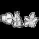 Bông tai Kim cương Vàng trắng 14K PNJ DDDDW001408