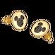 Bông tai Vàng 18K đính đá Disney|PNJ Mickey ZT00S060000