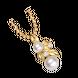 Mặt dây chuyền Vàng 18K đính ngọc trai Freshwater PNJ PFMXY000006
