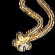 Mặt dây chuyền Vàng 10K đính đá ECZ Swarovski PNJ XM00Y000814