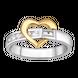 Nhẫn Vàng 10K đính đá ECZ Swarovski PNJ True Love XM00C000274