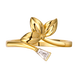 Nhẫn Vàng 10K đính đá ECZ Swarovski PNJ XM00Y001493