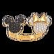 Nhẫn Vàng 18K đính đá Disney PNJ Mickey ZTXMZ060010