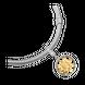 Hạt Charm Me Vàng 18K đính đá ECZ Swarovski PNJ XM00C000008