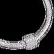Hạt Charm Me Vàng trắng Ý 18K đính đá CZ PNJ hình tròn lục giác XM00W000025