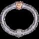 Hạt Charm Me Vàng trắng Ý 18K đính đá CZ PNJ hình tròn XM00W000027