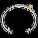 Vòng tay bạc PNJSilver Friendzone Breaker hình chữ Love 0000C000001