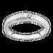 Nhẫn cưới Kim cương Vàng trắng 14K PNJ Chung Đôi DD00W000193