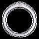 Nhẫn cưới Vàng trắng 10K đính đá ECZ Swarovski PNJ Chung Đôi XM00W000073