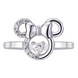 Nhẫn bạc Disney|PNJ Minnie XMXMW000013