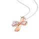 Mặt dây chuyền Vàng 10K đính đá ECZ Swarovski PNJStyle DNA XMXMX000011
