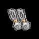 Bông tai trẻ em bạc PNJSilver Gem Melting hình bánh kem 0000C000006