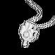 Mặt dây chuyền Vàng trắng 10K đính đá ECZ Swarovski PNJ XM00W060089