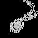 Mặt dây chuyền Vàng trắng Ý 18K PNJ 0000W000372
