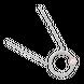 Dây cổ bạc PNJSilver Friendzone Breaker hình tròn NHXMK000005