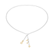 Dây cổ Bạc đính đá ECZ STYLE by PNJ DNA XM00C000008