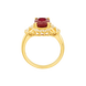 Nhẫn Vàng 18K đính đá Ruby PNJ RBXMY000956