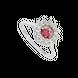 Nhẫn Vàng trắng 10K đính đá ECZ Swarovski PNJ XMXMW060304