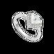 Nhẫn PNJ Galaxy Vàng trắng 10K đính đá ECZ 87592.100