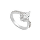 Nhẫn Bạc đính đá ECZ Swarovski PNJSilver XMXMW000023