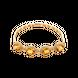 Lắc tay Vàng 18K đính đá Citrine PNJ CTXMY000049