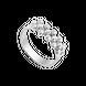 Nhẫn Vàng trắng Ý 18K PNJ 0000W060189