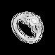 Nhẫn Vàng trắng Ý 18K PNJ 0000W001428