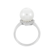 Nhẫn Vàng trắng 14K đính Ngọc trai Freshwater PNJ PFXMW000031