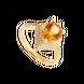 Nhẫn Vàng 18K đính đá Citrine PNJ CTXMY000430