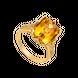 Nhẫn Vàng 18K đính đá Citrine PNJ CTXMY000425